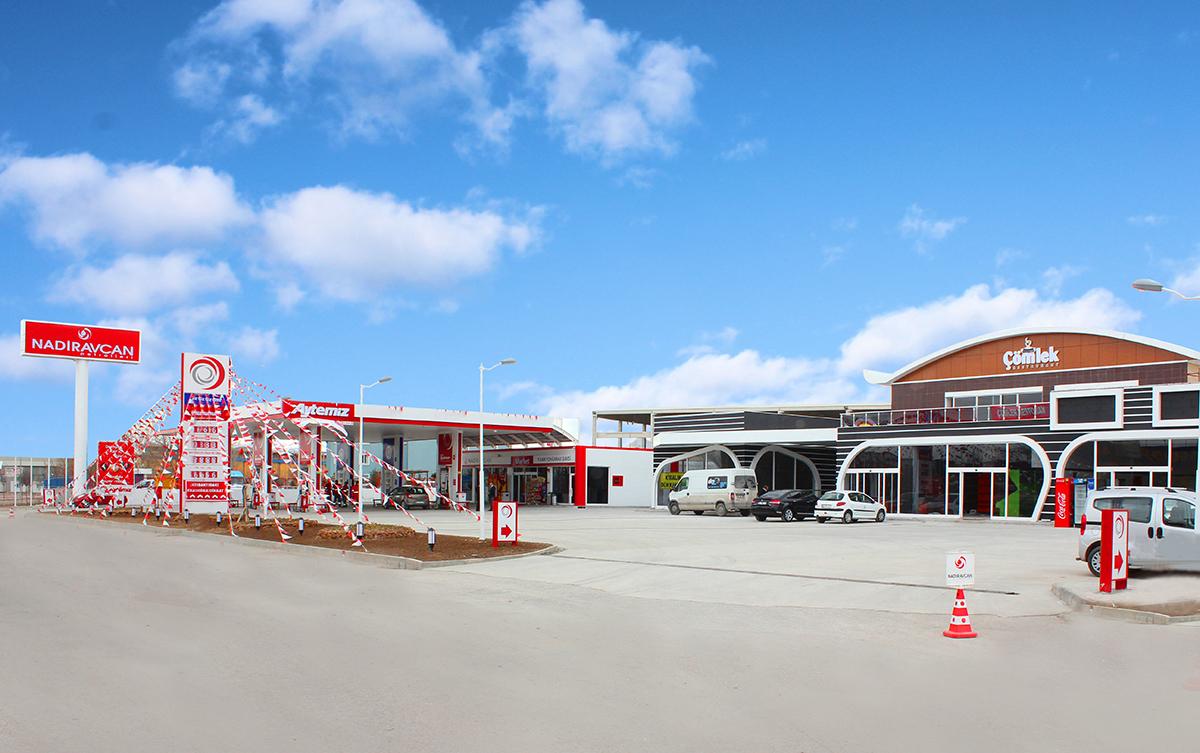 Yeni Kamyon Garajı Aytemiz istasyonumuz açıldı